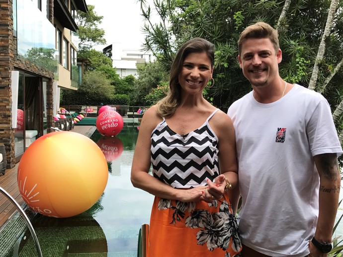 Mistura com Camille Reis terá casa de praia e quadros novos neste verão  (Foto: Mistura/RBS TV)