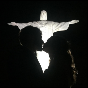 Jayme Matarazzo e Luiza Tellechea (Foto: Reprodução/Instagram)