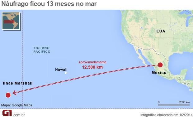 mapa náufrago atualizada (Foto: 1)
