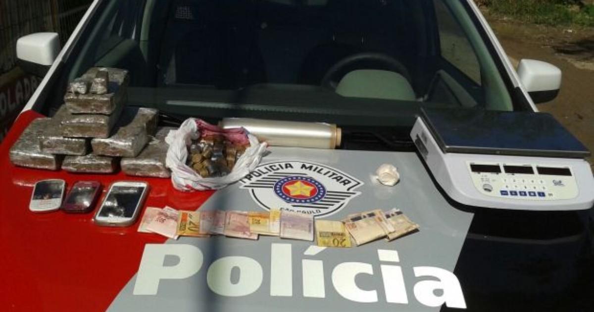 Casal é preso com 5 quilos de maconha no Aterrado em Tremembé - Globo.com