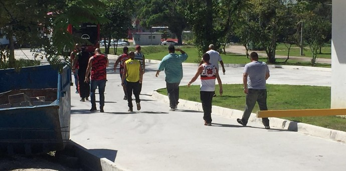 Torcida organizada Flamengo (Foto: Gustavo Rotstein)