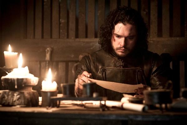 O herói Jon Snow em cena de Game of Thrones (Foto: Reprodução)