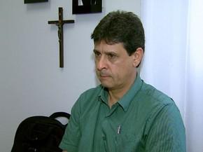 O provedor do hospital nega conhecimento sobre suposto esquema de médicos em Colina, SP (Foto: Reprodução/EPTV)