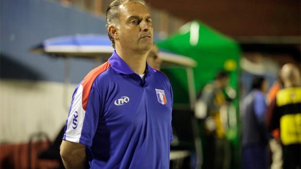 Carlos Octávio durante treino do Guará (Foto: Fábio Rubinato / Divulgação)