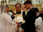 'Felicidade me consome! Foi incrível', diz Rodrigo Godoy sobre casamento