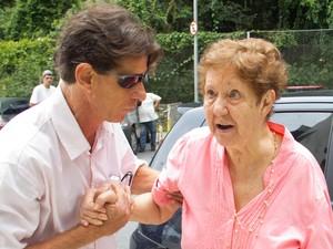 Mãe de Chorão (Foto: DIOGO MOREIRA/ESTADÃO CONTEÚDO)