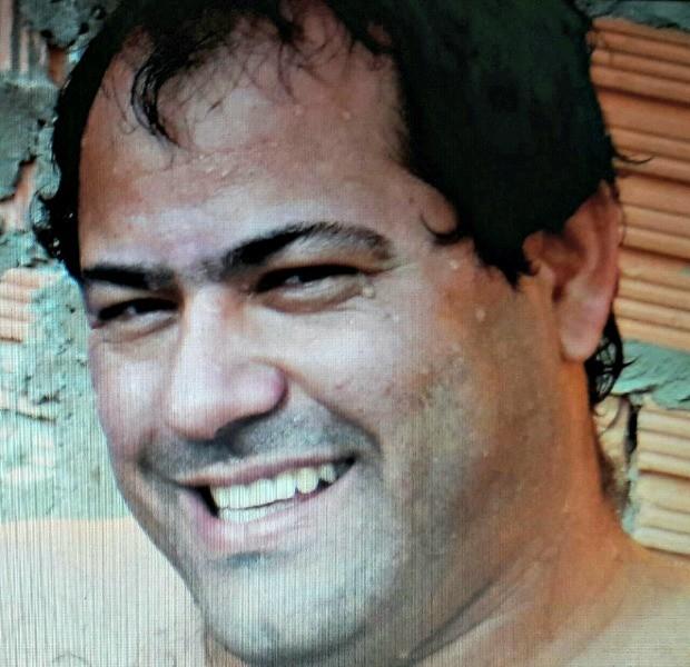 Empresário em imagem registrada antes do câncer bucal (Foto: Pedro Benedito Filho/ Arquivo pessoal)