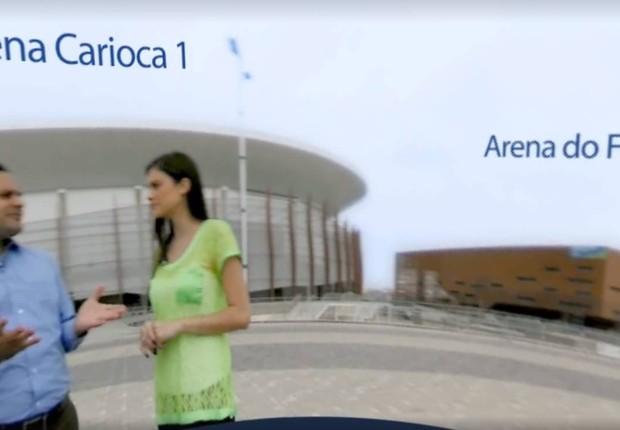 Arena Carioca 360 (Foto: GE)