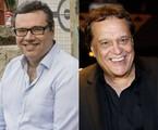 João Emanuel Carneiro e Dennis Carvalho | Tata Barreto/TV Globo e Ellen Soares/Gshow