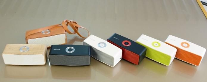 LG Music Flow P5 tem design retangular e vem com função auto play (Foto: Divulgação)
