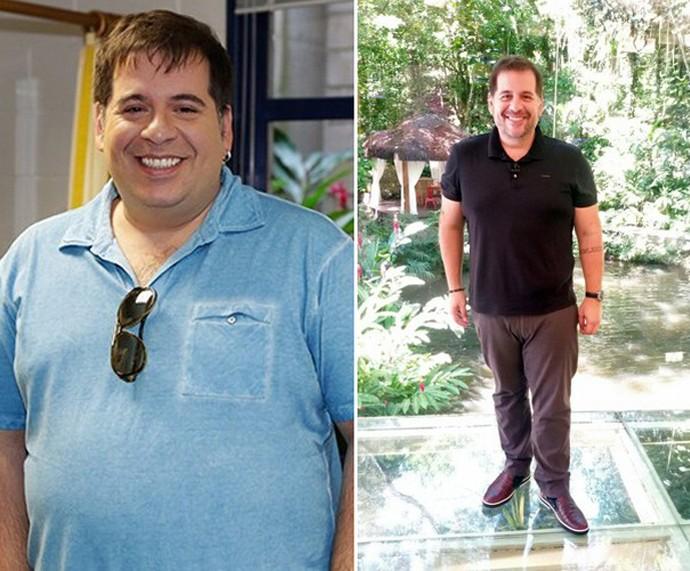 Leandro Hassum quando perdeu 32 quilos (Foto: Mais Você / Gshow)