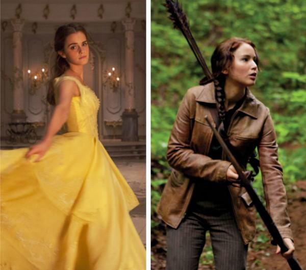 Emma Watson e Jennifer Lawrence (Foto: Reprodução)