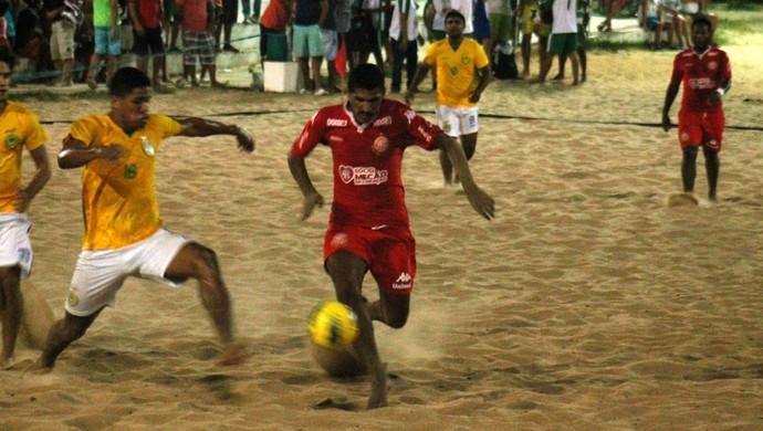 André Bigode América-RN beach soccer (Foto: Canindé Pereira/Divulgação)