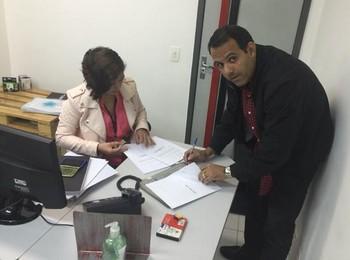 Cacau Cotta candidatura Flamengo (Foto: Divulgação)