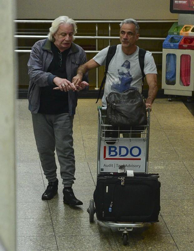 O casal Marco Nanini e Fernando Libonati (Foto: Leo Franco/AgNews)
