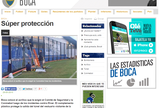 Boca Juniors põe proteção de acrílico em local de confusão na Bombonera