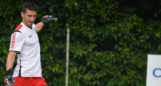 acallorado (Erico Leonan / site oficial do SPFC)