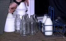 Entrega de leite em Londres