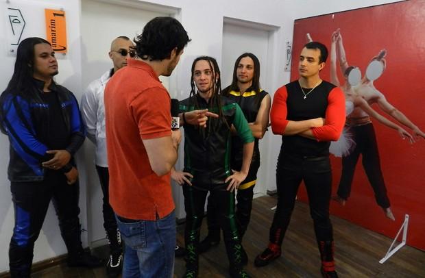 Jonas Almeida e Cosplay (Foto: Renato Celestrino/ TV Vanguarda)