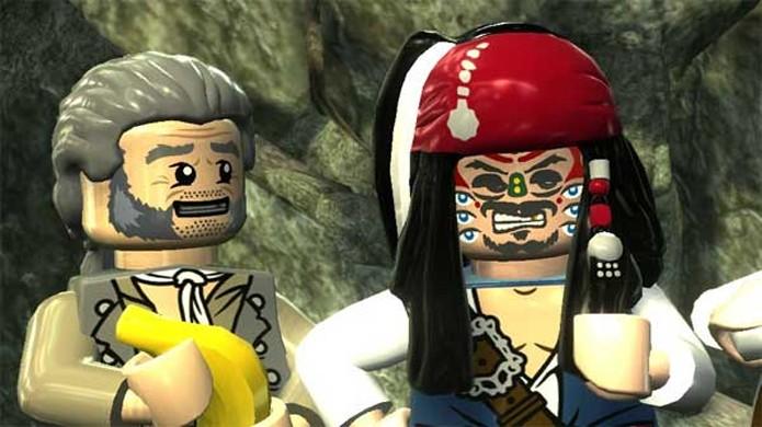 Jogadores piratas estão tendo tantos problemas quanto Jack Sparrow em LEGO Piratas do Caribe para Nintendo 3DS (Foto: Granville Video Games)