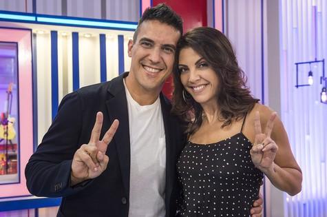 André Marques e Thalita Rebouças (Foto: Maurício Fidalgo/ TV Globo)