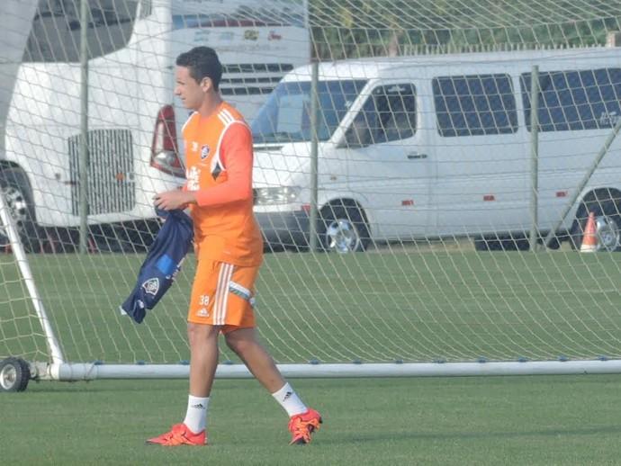 Higor Leite fluminense (Foto: Sofia Miranda/ GloboEsporte.com)