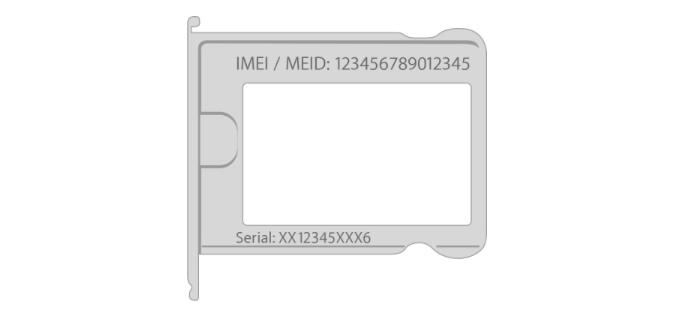 Número de série também pode ser encontrado no corpo do dispositivo e na caixa (Foto: Reprodução/Helito Bijora)