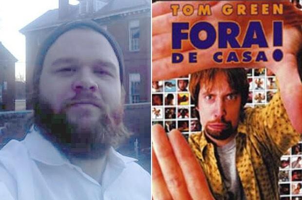 James Meyers havia alugado o filme 'Fora de Casa!' em 2002 (Foto: Reprodução/Facebook/James Meyers)