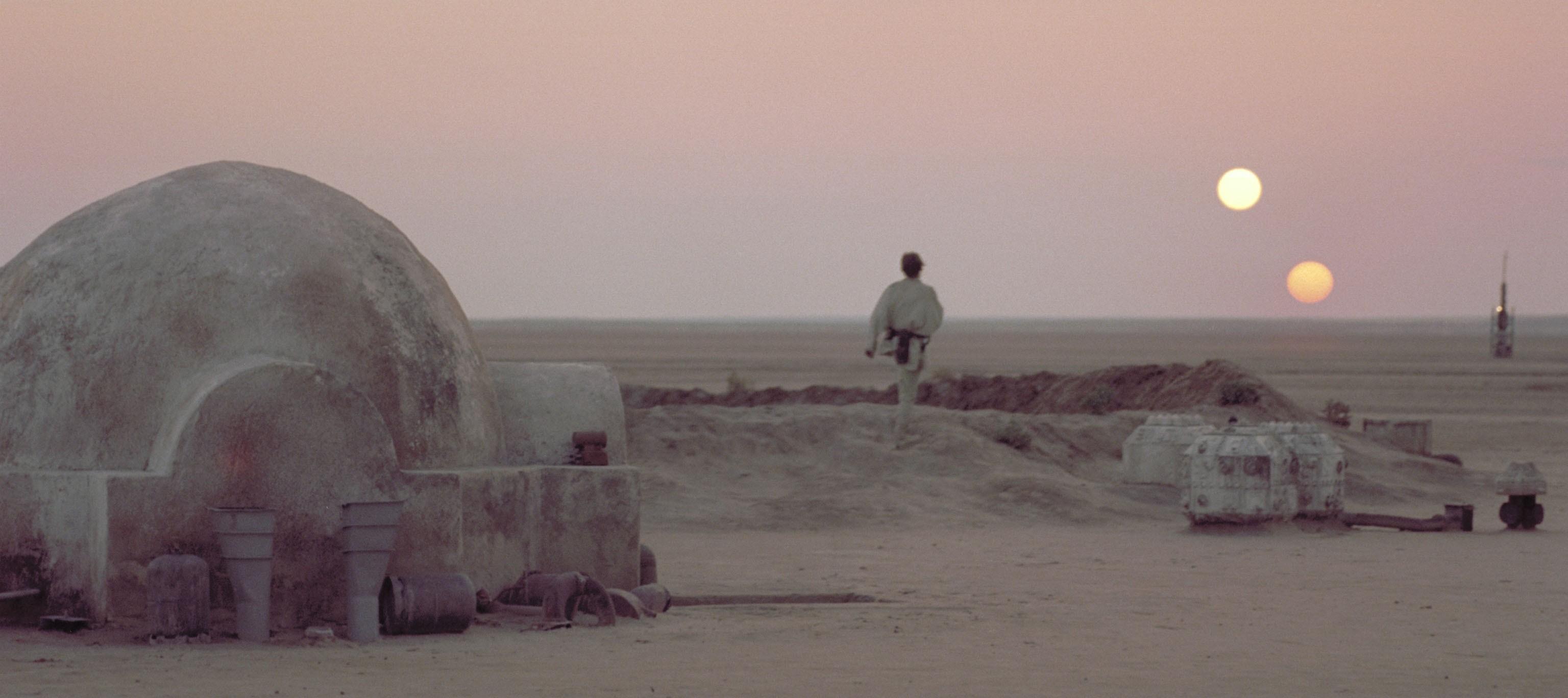 Parece Tatooine, mas é real (Foto: Divulgação)