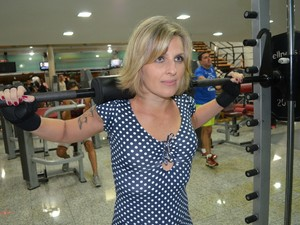 Simone Prates, avó 'sarada' de Piracicaba (Foto: Thomaz Fernandes/G1)