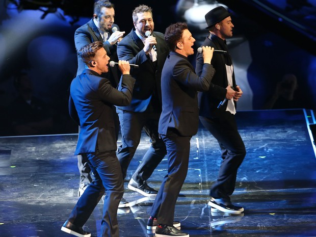 g1 n sync se re250ne para show no video music awards