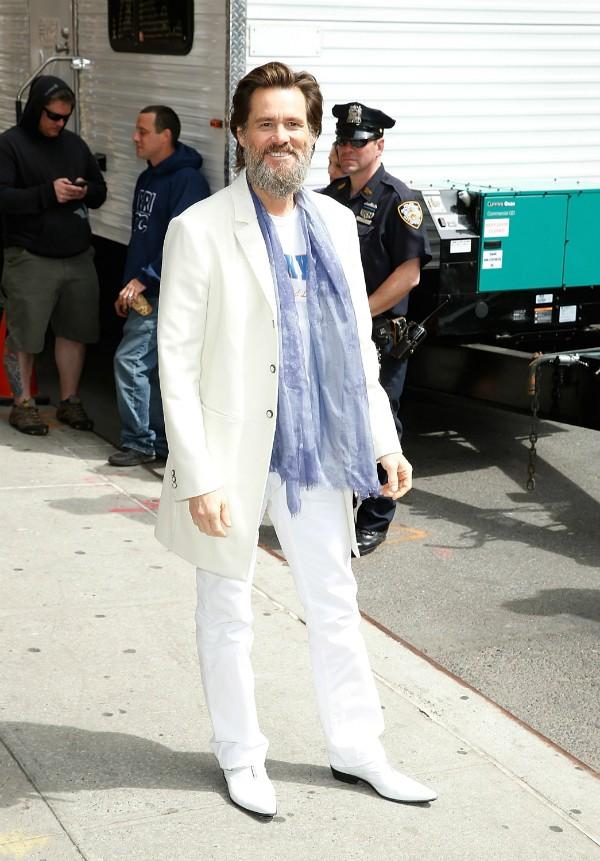 Jim Carrey conta ter dificuldade de concentração durante filmagens (Foto: Getty Images)
