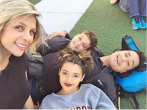 Xanddy, Carla Perez, Victor e Camilly (Foto: Instagram / Reprodução)