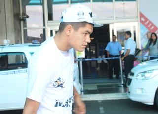 Gabriel Fernández Grêmio Torito (Foto: Eduardo Moura/Globoesporte.com)