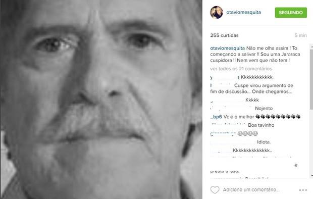 Otávio Mesquita comenta cuspe de José de Abreu em restaurante (Foto: Reprodução/Instagram)