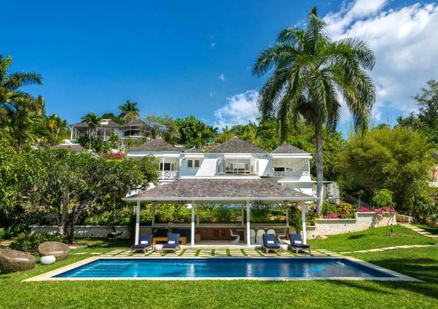 Meghan e Harry se hospedaram em uma das casas particulares (foto) do resort (Foto: Divulgação)