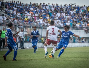 Leandro kível é o artilheiro do dragão  (Foto: Filippe Araújo/FSF)