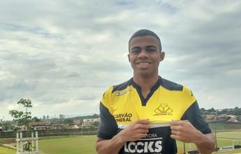 Apresentado no Tigre, Lucas Taylor valoriza chance: 'Sei do meu potencial'