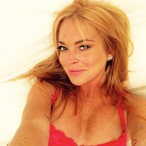Lindsay Lohan (Foto: Reprodução/Instagram)
