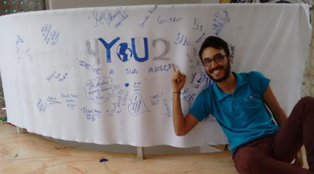 """Gustavo Fuga criou a 4you2 em 2011: """"Sempre quis criar um negócio social"""". (Foto: Divulgação)"""