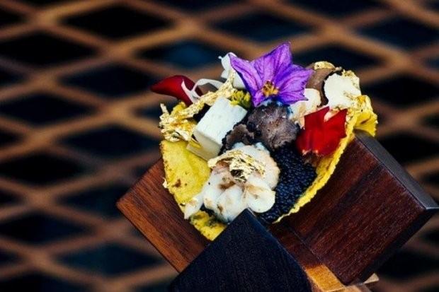 Taco mais caro do mundo (Foto: Reprodução/Pinterest)