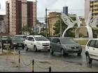 João Pessoa tem chuva moderada repentina nesta quinta-feira