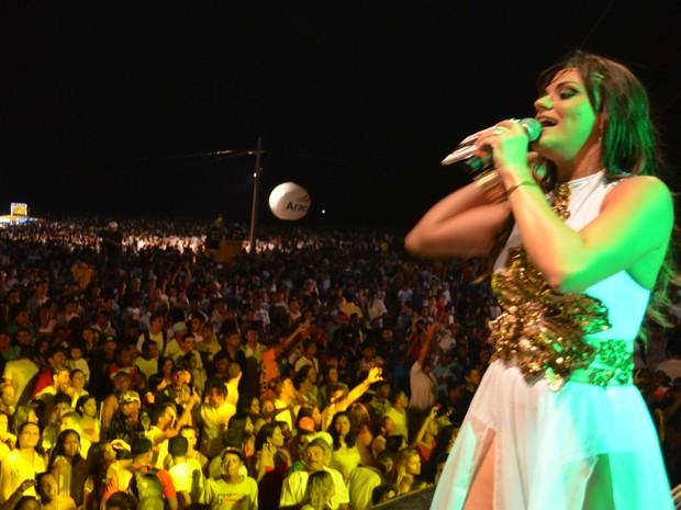 Maysa Reis revela os próximos passos para a sua carreira (Foto: Marina Fontenele/G1)