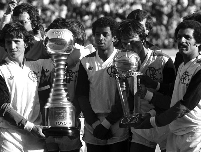 Flamengo x Liverpool Mundial 1981 (Foto: O Globo)