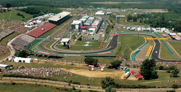 Hungaroring - vista aérea