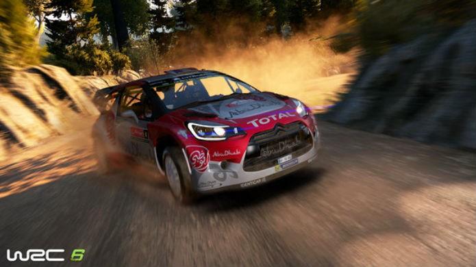WRC 6 não convence com seus gráficos datados (Foto: Divulgação/BigBen)