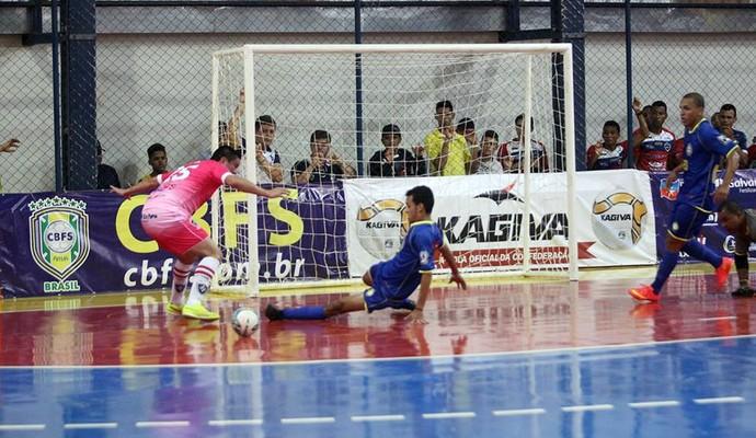 Crensa x Vento em Popa - Liga Nordeste de Futsal 2014 (Foto: Zerosa Filho/CBFS)