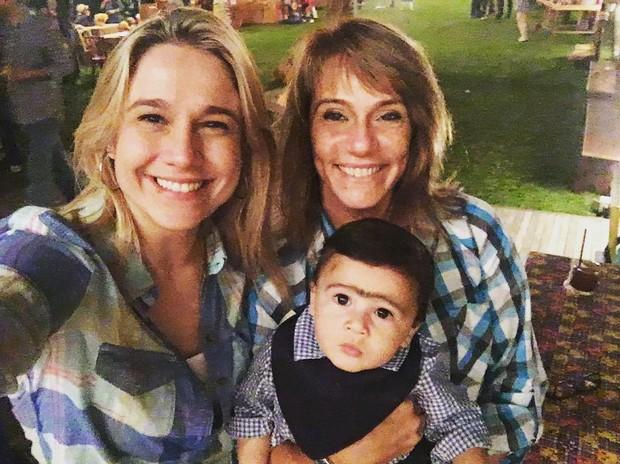 Fernanda Gentil e o filho (Foto: Reprodução / Instagram)