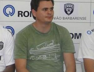 Clayton Vieira, diretor de futebol do União Barbarense (Foto: Divulgação/UniãoBarbarense)