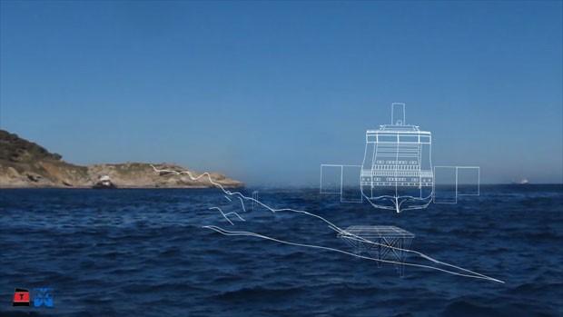 Plano prevê a construção de uma estrutura submarina apoiada nas rochas da costa (Foto: Reuters/Costa Cruzeiros)